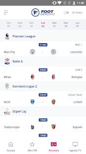 Foot Mercato : transferts, ru00e9sultats, news, live 4.1.58 Screenshots 3