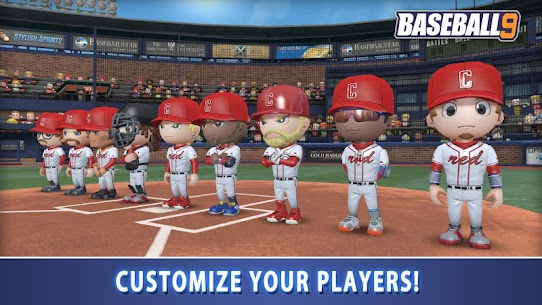 BASEBALL 9 1.5.7 MOD APK [INFINITE COIN/ENERGY] 4