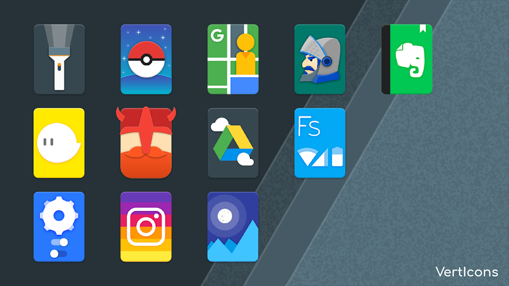 Verticons Icon Pack  poster 4