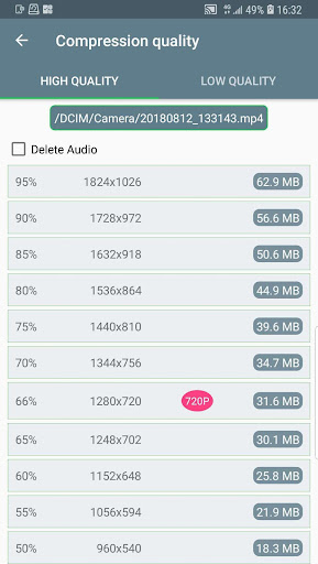 Video Compressor - Fast Compress Video & Photo screen 2
