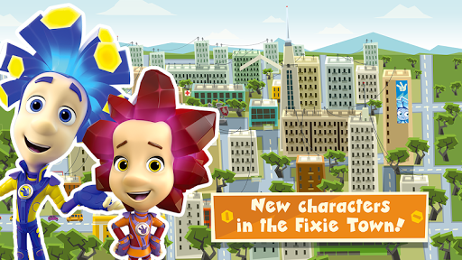 The Fixies Town Games for Kids! Girl and Boy Games screenshots 1