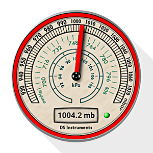 DS Barometer  Altimeter and Weather Information