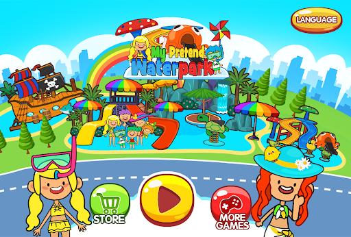 My Pretend Waterpark - Kids Summer Splash Pad apkpoly screenshots 1