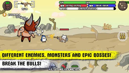 Cat Shooting War: Offline Mario Gunner TD Battles 1.58 screenshots 4