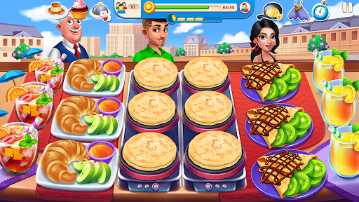 Cooking Travel - Food truck fast restaurant android2mod screenshots 2