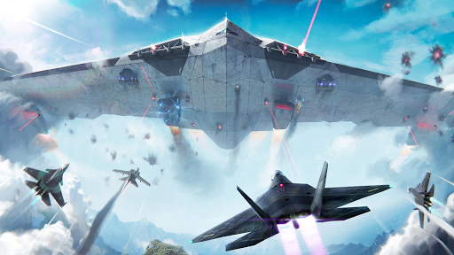 Modern Warplanes: Sky fighters PvP Jet Warfare apktreat screenshots 1