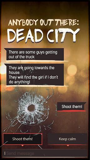 DEAD CITY ud83dudd25 Text Adventure & Cyoa 1.7.10 screenshots 1