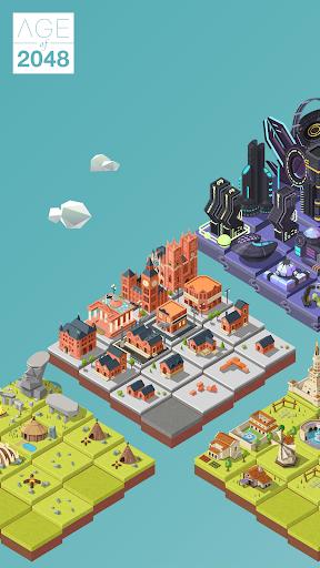 Age of 2048u2122: Civilization City Merge Games  screenshots 4