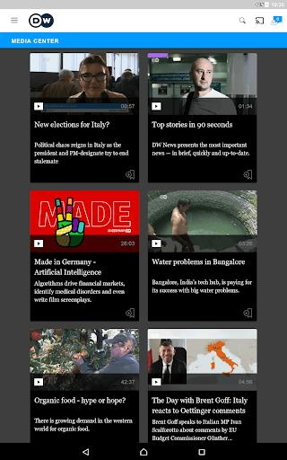 DW - Breaking World News 2.6.3 Screenshots 13