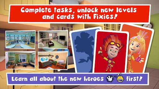 Fixies. Hide and seek - online game 1.48 de.gamequotes.net 4