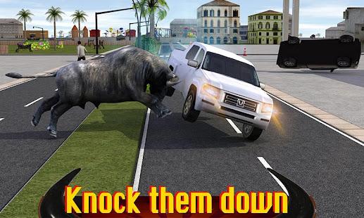 angry buffalo attack 3d hack