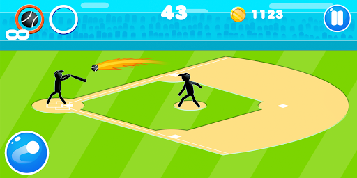 Stickman Baseball 1.9 screenshots 1