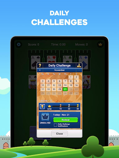 Castle Solitaire: Card Game 1.3.2.607 screenshots 8