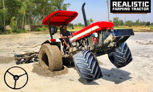 Village Tractor Driving Simulator Farming Games 3d Apk Download 3