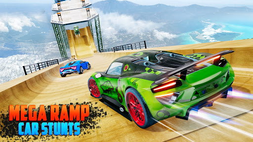 Crazy Car Stunts 3D - Mega Ramps Car Games  screenshots 10