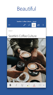 Microsoft Word: Write, Edit & Share Docs on the Go 1