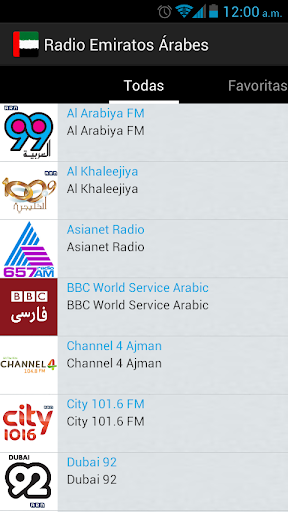 arab emirates radio screenshot 2