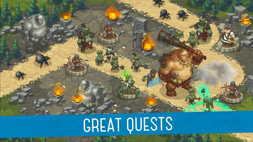 Orcs Warriors: Offline Tower Defense 1.0.28 Screenshots 3