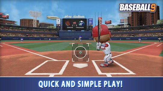 BASEBALL 9 1.5.7 MOD APK [INFINITE COIN/ENERGY] 1