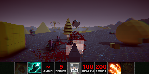 DOOM Zombies Chainsaw: Devil Blood Dungeon Monsters APK Download For Android 5