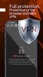 Web Browser – Private Browser With Free VPN MOD (Pro) 3