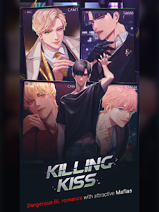 Killing Kiss Mod Apk: BL story game (Free Premium Choices) 9