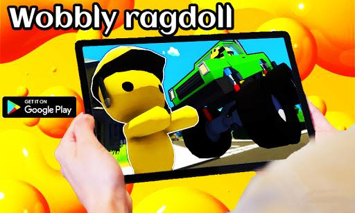 Code Triche Wobbly life gameplay Ragdolls (Astuce) APK MOD screenshots 2