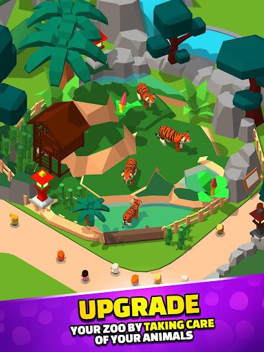 Idle Zoo Tycoon 3D - Animal Park Game APK MOD (Astuce) screenshots 4