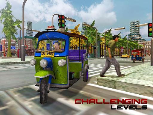 Tourist Transport Taxi: Tuk Tuk Driving Simulator  screenshots 12