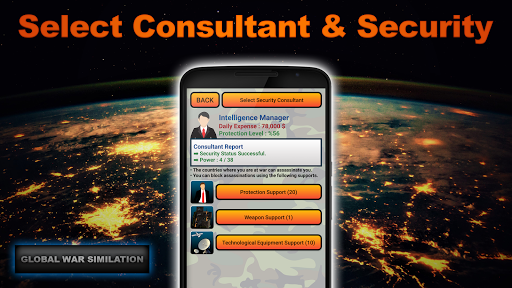 Global War Simulation Lite Strategy War Game v23 LITE Screenshots 8