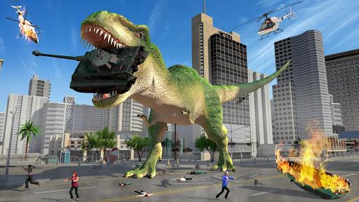 Hungry Dinosaur Hunting Simulator Game 2020 apktreat screenshots 1