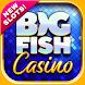Big Fish Casino - 本格的なオンラインカジノのスロットゲームをプレイしよう