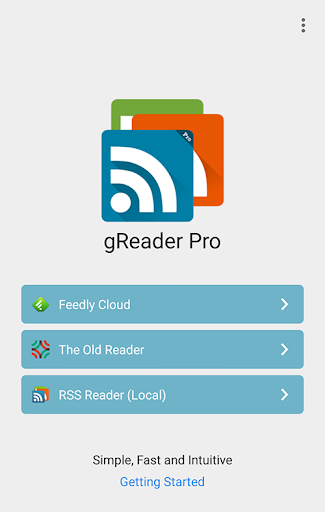 gReader   Feedly   News   RSS  screenshots 1