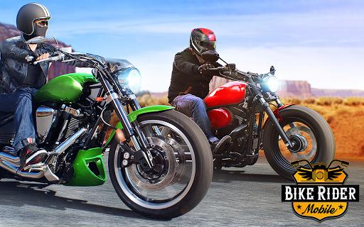 Bike Rider Mobile: Racing Duels & Highway Traffic apktram screenshots 7