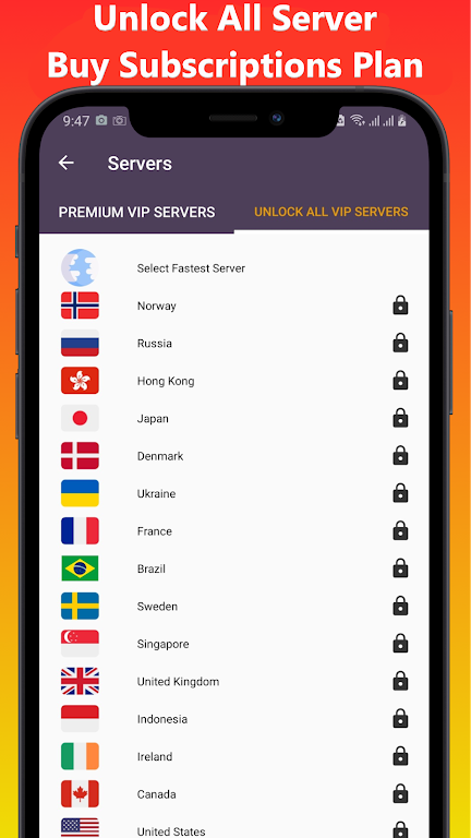 VOP HOT Pro Premium VPN -100% secure Safe Browsing  poster 3