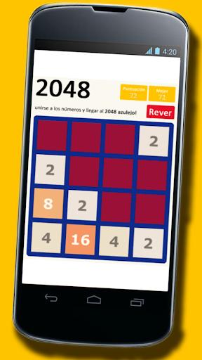 2048 [spanish version] screenshot 2