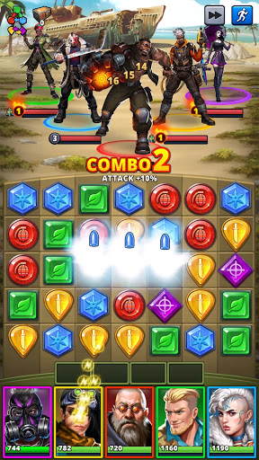 Puzzle Combat: Match-3 RPG android2mod screenshots 8