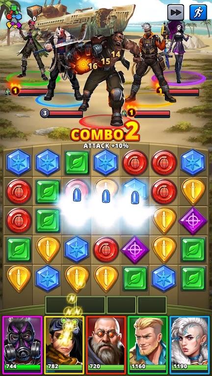 Puzzle Combat: Match-3 RPG poster 7