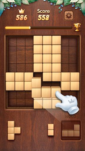 Wood Block Puzzle 3D - Classic Wood Block Puzzle apktram screenshots 2