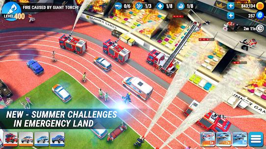 EMERGENCY HQ – Firefighter Rescue Strategy Game Mod Apk 1.6.08 (Mod Menu) 7