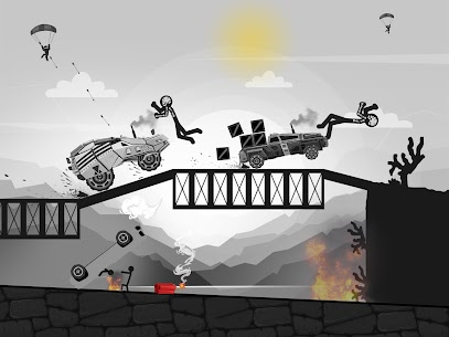 Stickman Destruction Turbo Annihilation MOD (Unlimited Gold Coins) 1