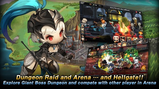 Dungeon Breaker Heroes Screenshot