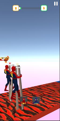 Super Hero Transform Race - Spider Racing Game 3D  screenshots 17