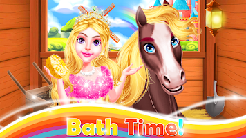 Princess Horse Daily Caring - Triplet Beauty Salon
