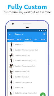 JEFIT Workout Tracker, Weight Lifting, Gym Log App Screenshot