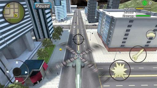 Crime Angel Superhero - Vegas Air Strike Apkfinish screenshots 14