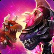 Dino War Dark T-Rex VS Tyranno
