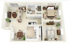 Free 3D Home Plansのおすすめ画像4