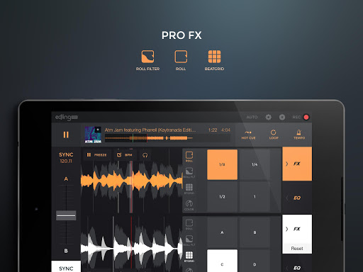edjing PRO LE - Music DJ mixer  Screenshots 10