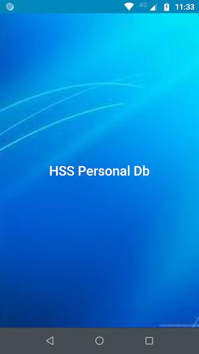 hss personal db screenshot 2